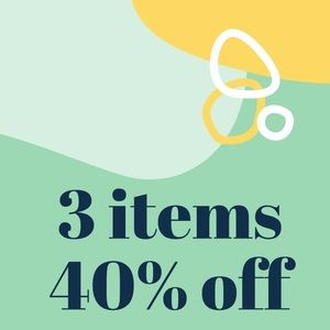 40% OFF 40% OFF 40% OFF
